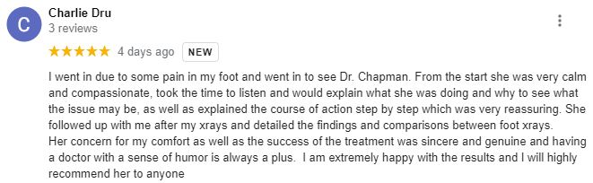 Chiropractic Portland OR Patient Testimonial